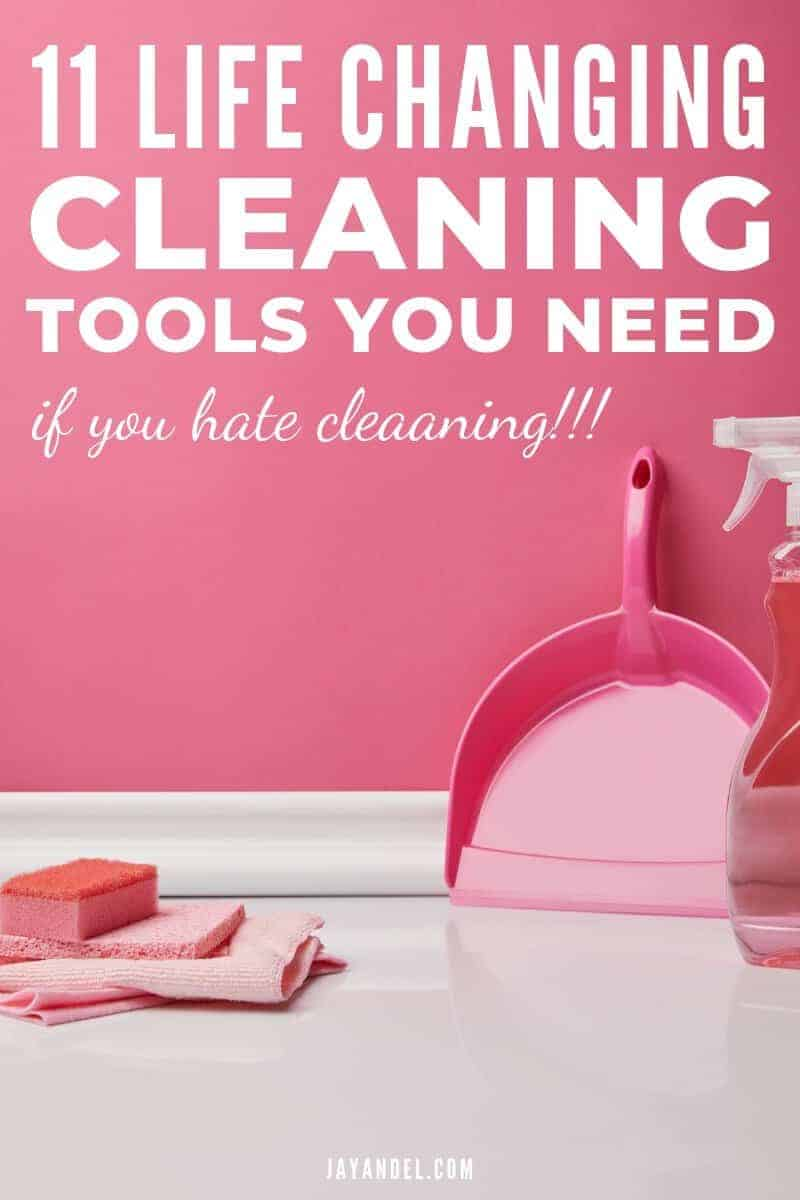 Cleaning Tools for People Who Hate To Clean