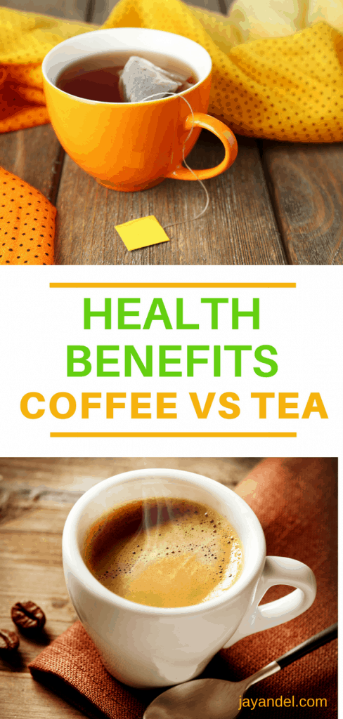 Health Benefits of Coffee vs Tea | While there are many reasons to add more tea to your daily routine, coffee is not quite as bad for you as you might have imagined.