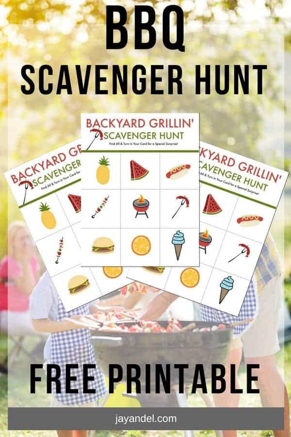 Check out this super duper fun and free printable – your very own BBQ Scavenger hunt. Perfect if you are having a family BBQ this summer. Go on, download it here!