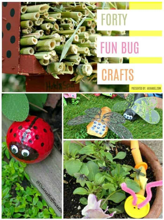 40 Ridiculously Fun Bug Crafts for Creative Kids