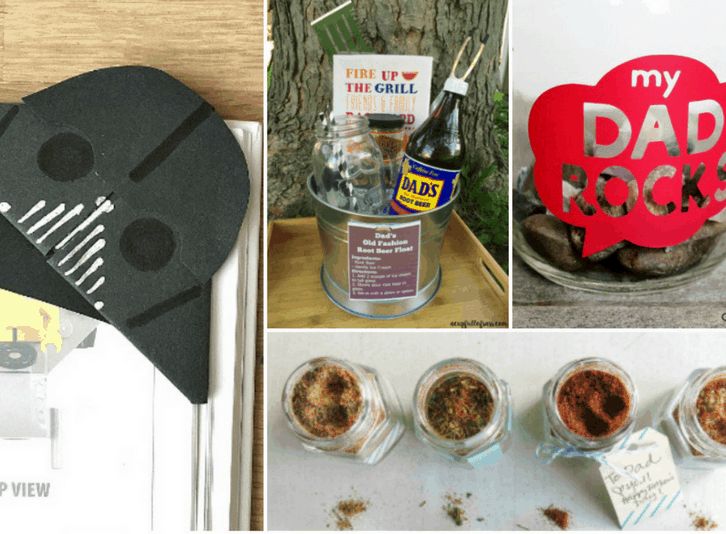 Unique Handmade Father's Day DIY Gift Ideas