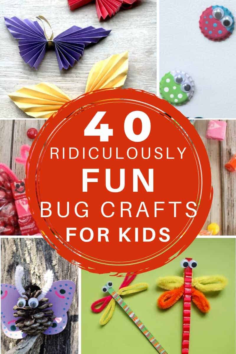 fun bug crafts for kids