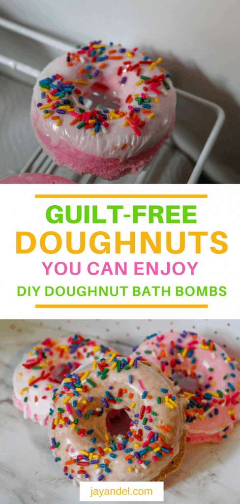 I made Doughnuts!! Yes, my family was all over these until they realised that they weren't the edible kind and were in fact bath bombs (sorry to disappoint, guys).