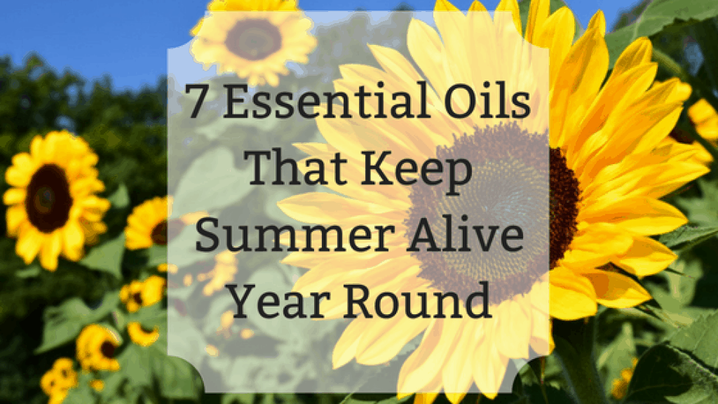 7 Essential Oils That Keep Summer Alive
