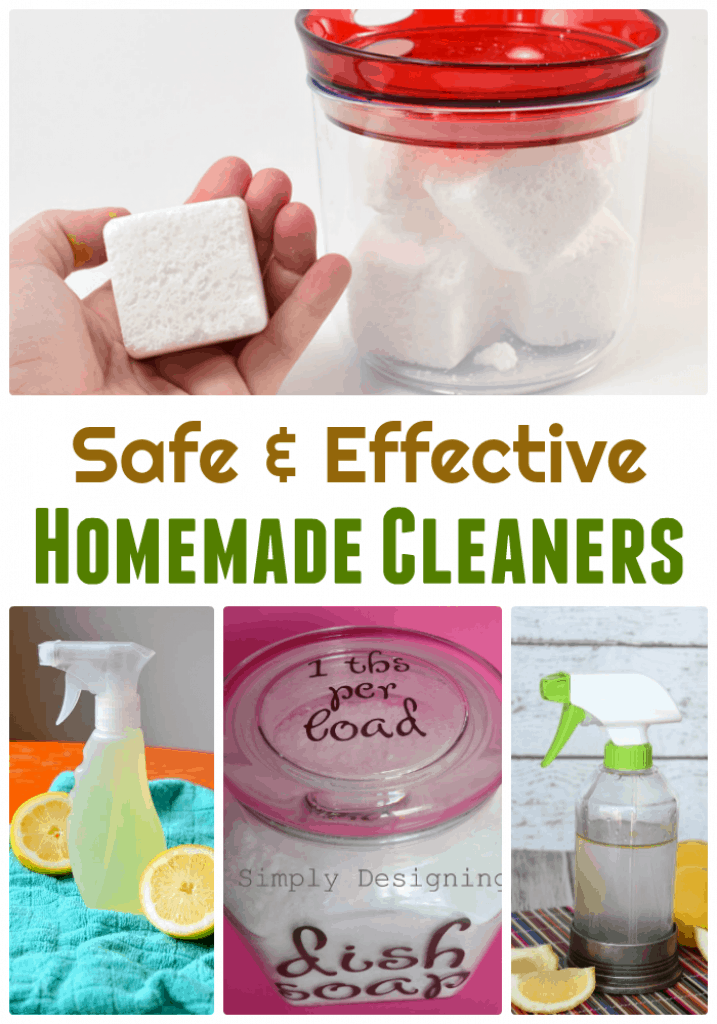 From vinegar to baking soda to ways you can use dish soap to clean a lot more than dishes – there are some great ideas here!