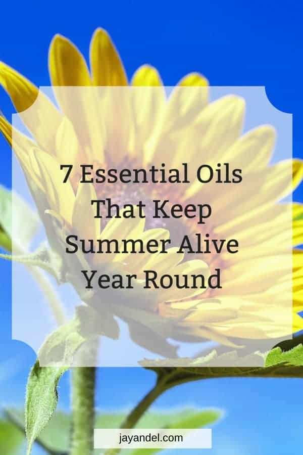 Summer is a time that seems to just fly by. Here is a list of 7 Essential Oils That Keep Summer Alive Year Round, helping you through the dreariest of cold nights.