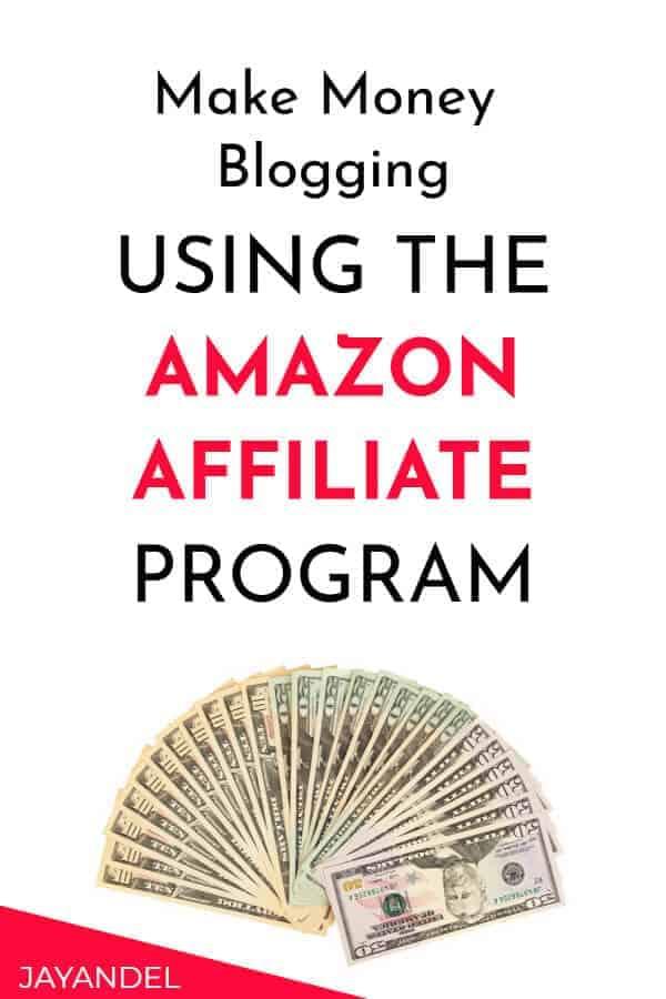 make money blogging with amazon