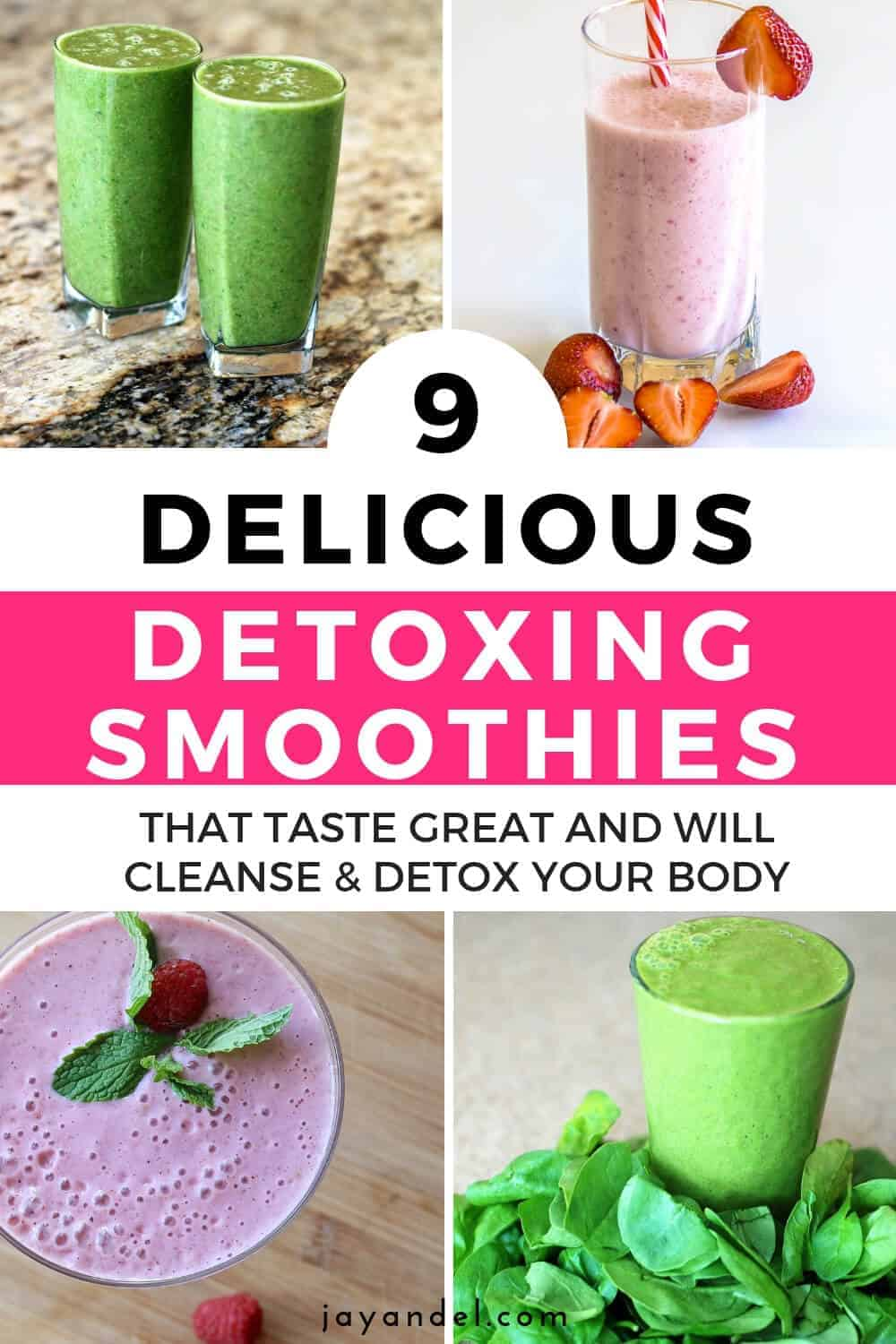 9 detox smoothies to make at home