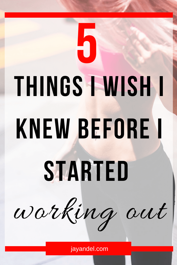 While I'm happy with the progress I've made on my fitness journey, there are definitely a few things I wish I learned before I got started. Click to read the tips that I wish someone had shared with me before I started hitting the gym.