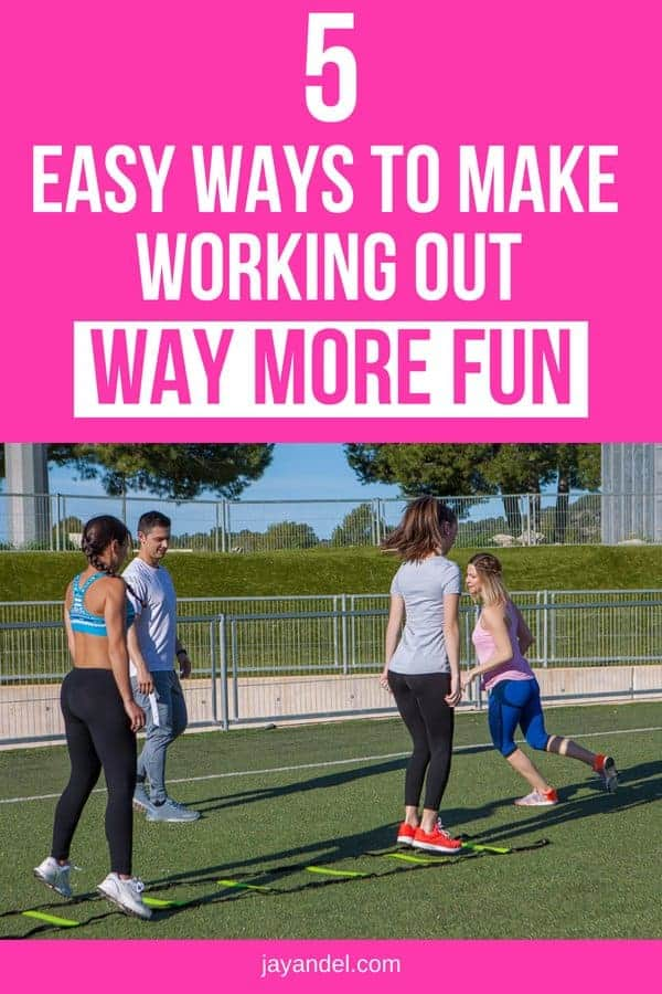 Fitness should be fun - especially if you're trying to make it a habit! There are lots of things you can do to shake up your workout routine and bring a little bit more fun and excitement into the process. Check out the 5 ways to make working out way more fun.