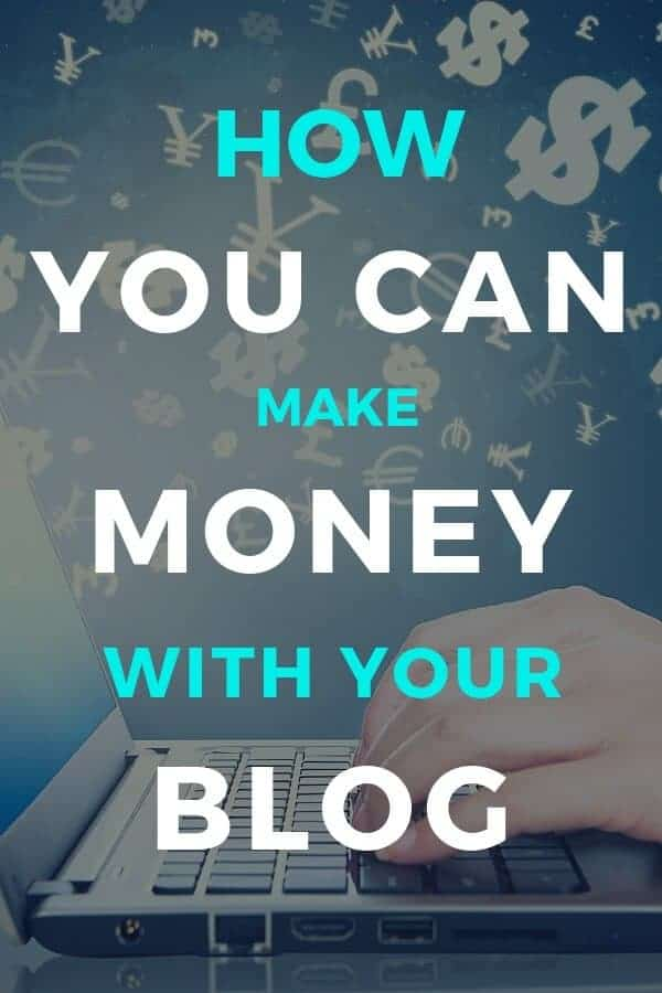 how you can make money with a blog