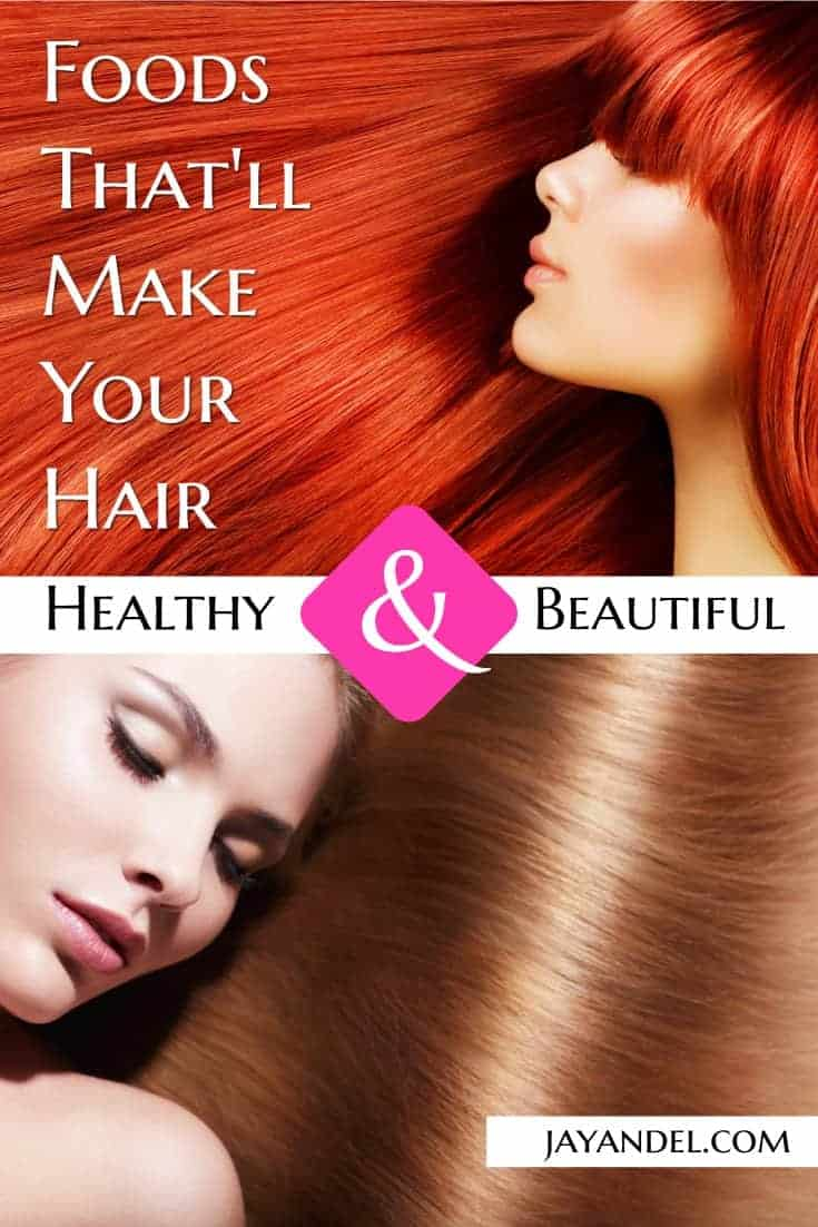 """If you are working towards healthier hair through improved nutrition, then you need to know what foods to be including in your """"healthy hair diet"""""""