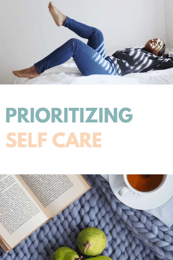 prioritizing self care