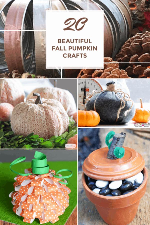 Fall pumpkin Crafts