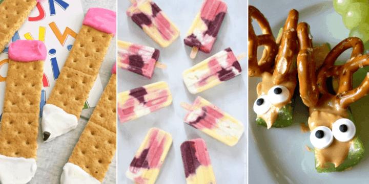 15 Healthy Snack Ideas Kids WILL Love