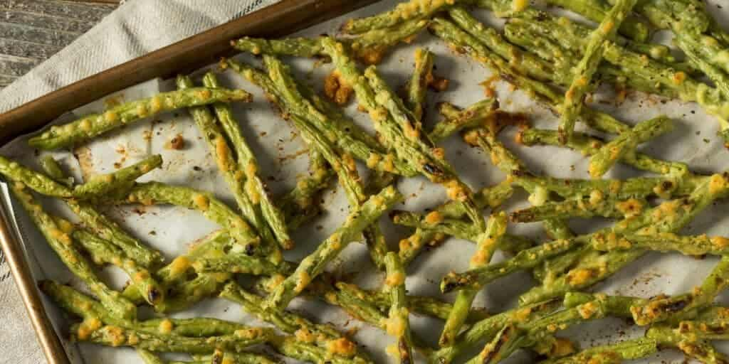 "Green bean ""fries"""
