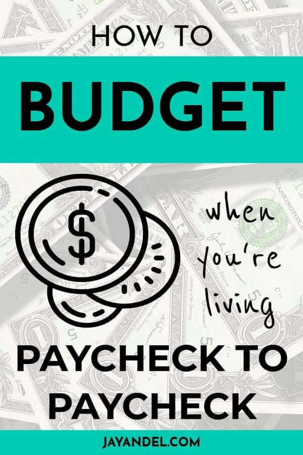 how to budget paycheck