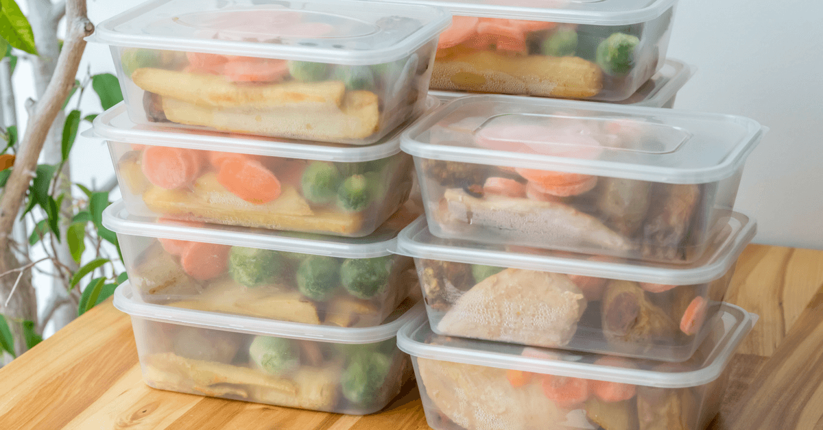 meal prepping makes eating healthy easy