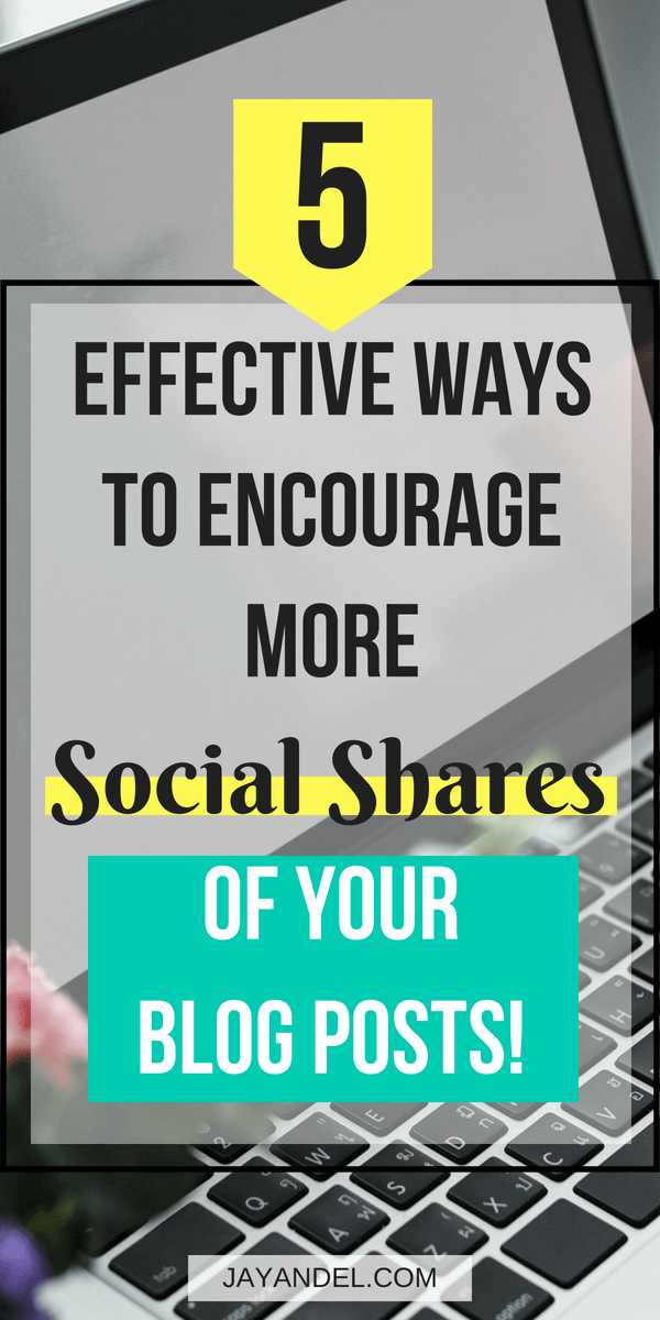 how you can get more social shares on your blog posts