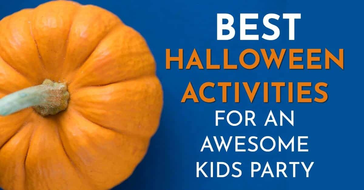 Halloween activities for kids party