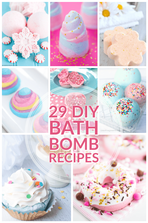 29 Fabulous DIY Bath Bombs
