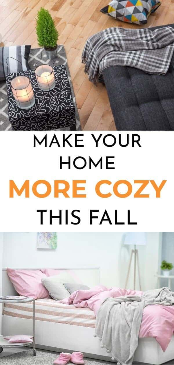 make your home cozy for fall