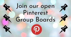 open pinterest group boards