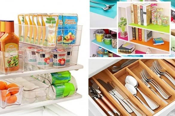 stylish kitchen organization