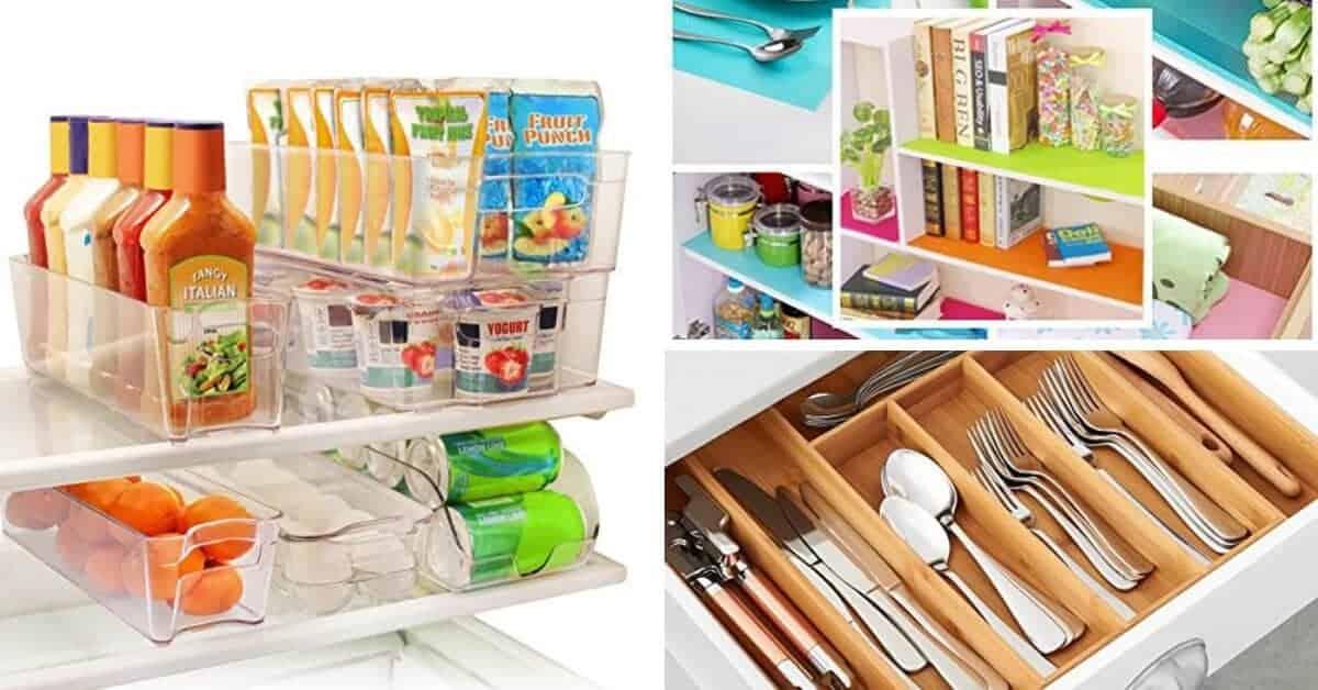 stylish kitchen organization