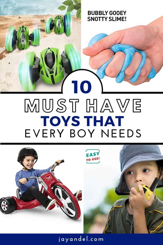 toys every boy needs