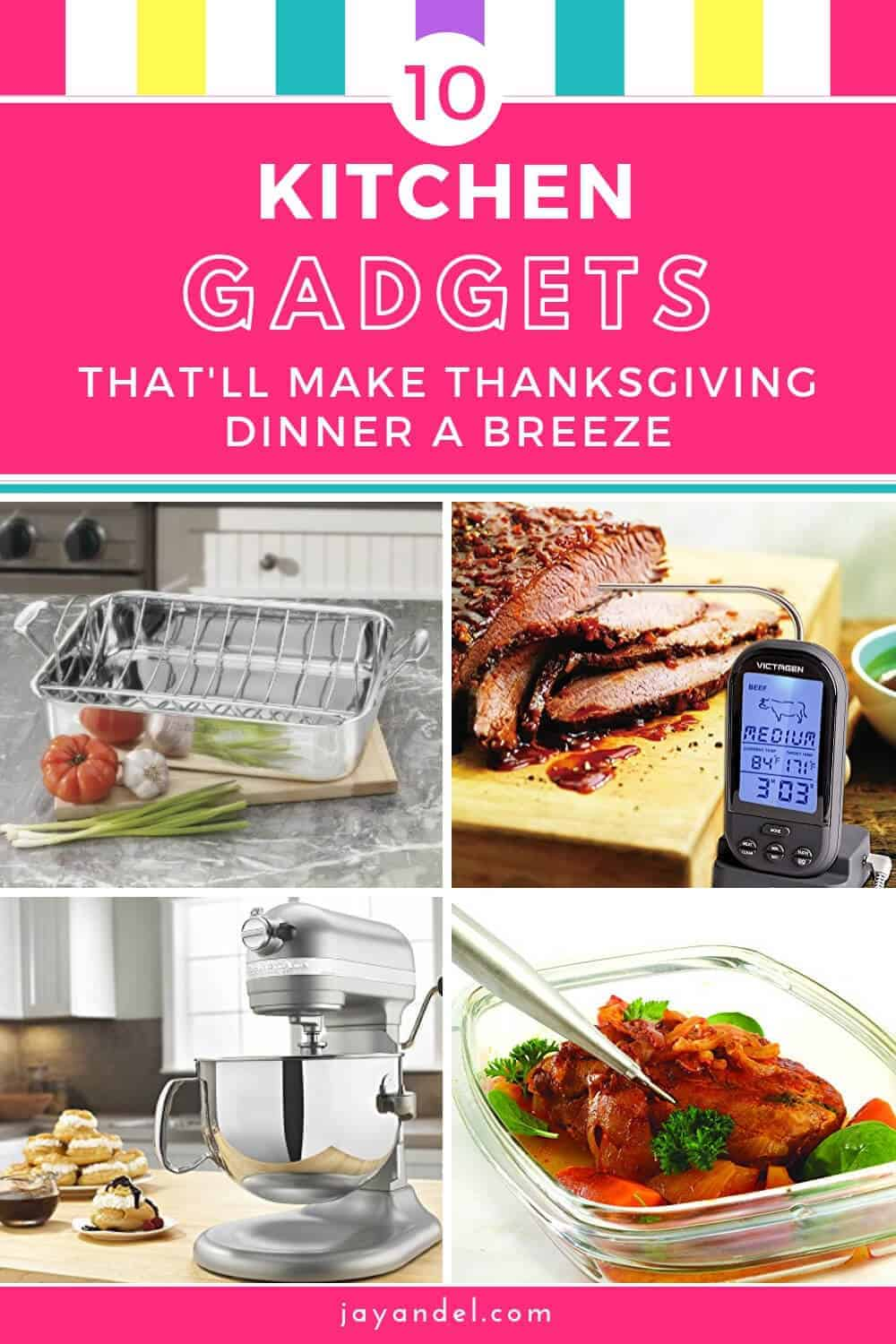 10 kitchen gadgets for thanksgiving dinner