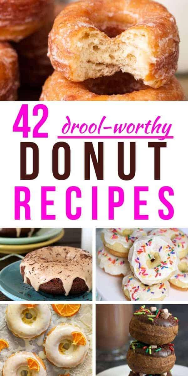 42 donut recipes