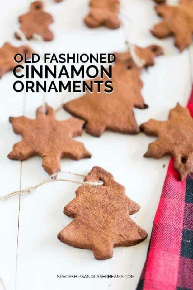 Old Fashioned Cinnamon Ornaments