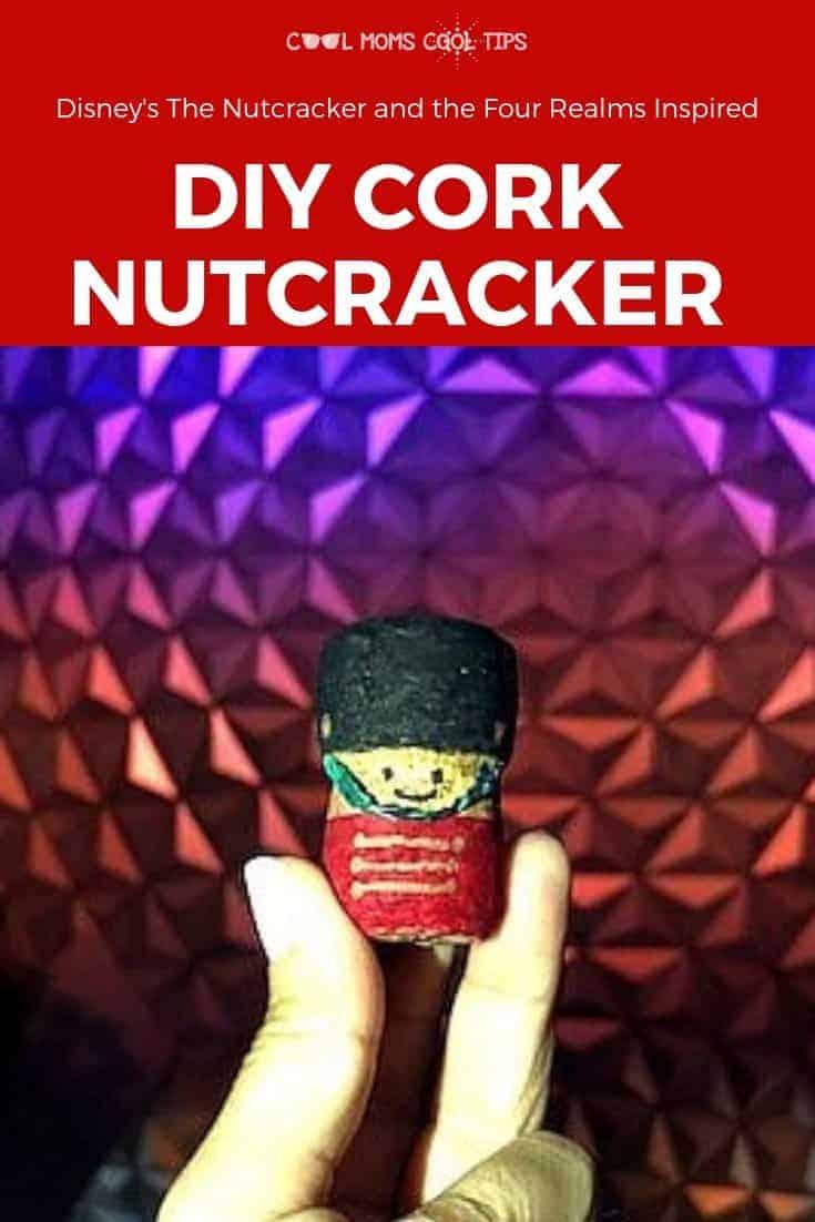 DIY Cork Nutcracker