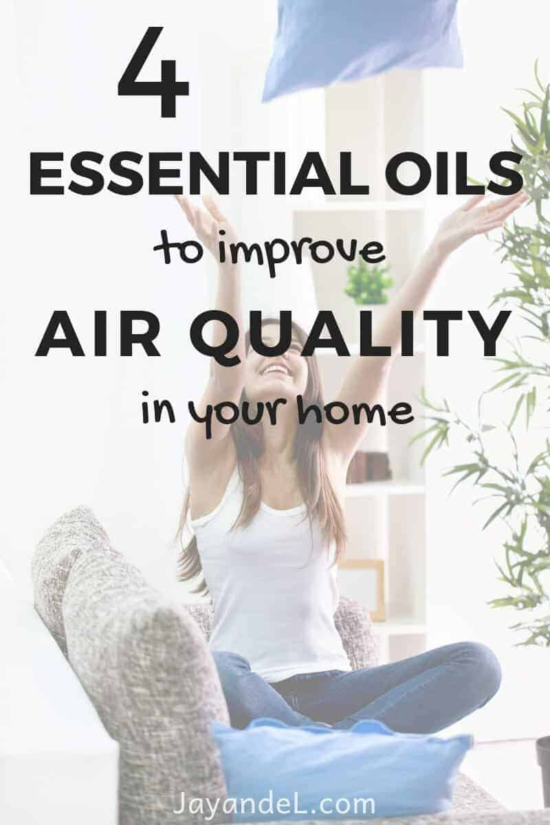 essential oils air quality in your home