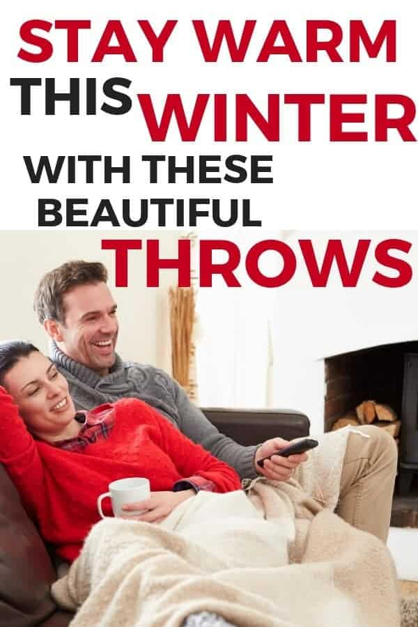beautiful winter throws