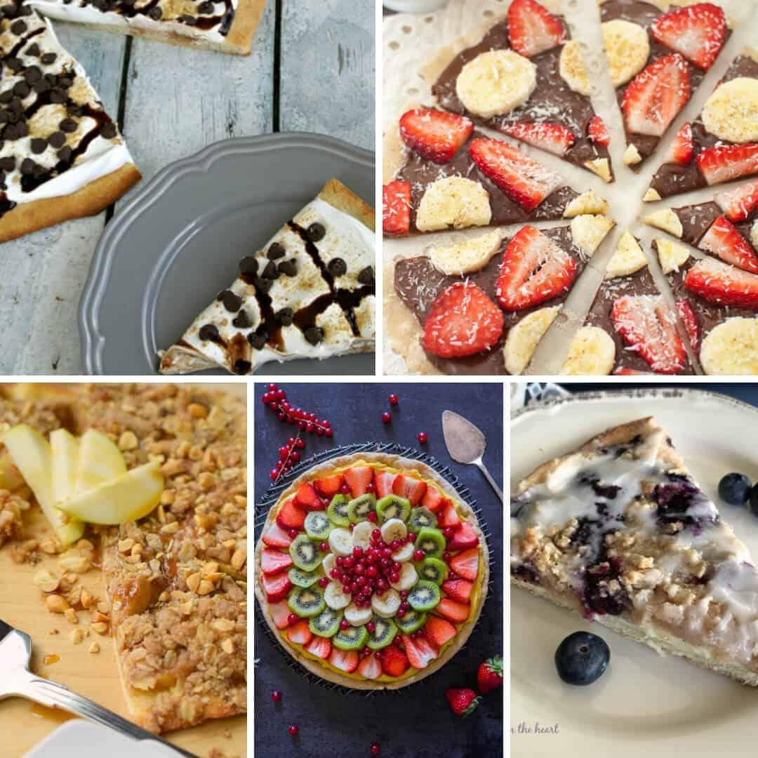 12 delicious dessert pizza recipes