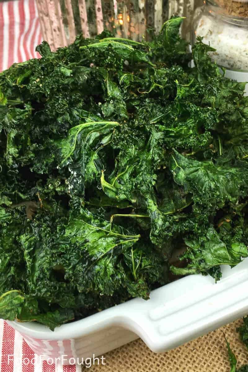 delicious kale chips