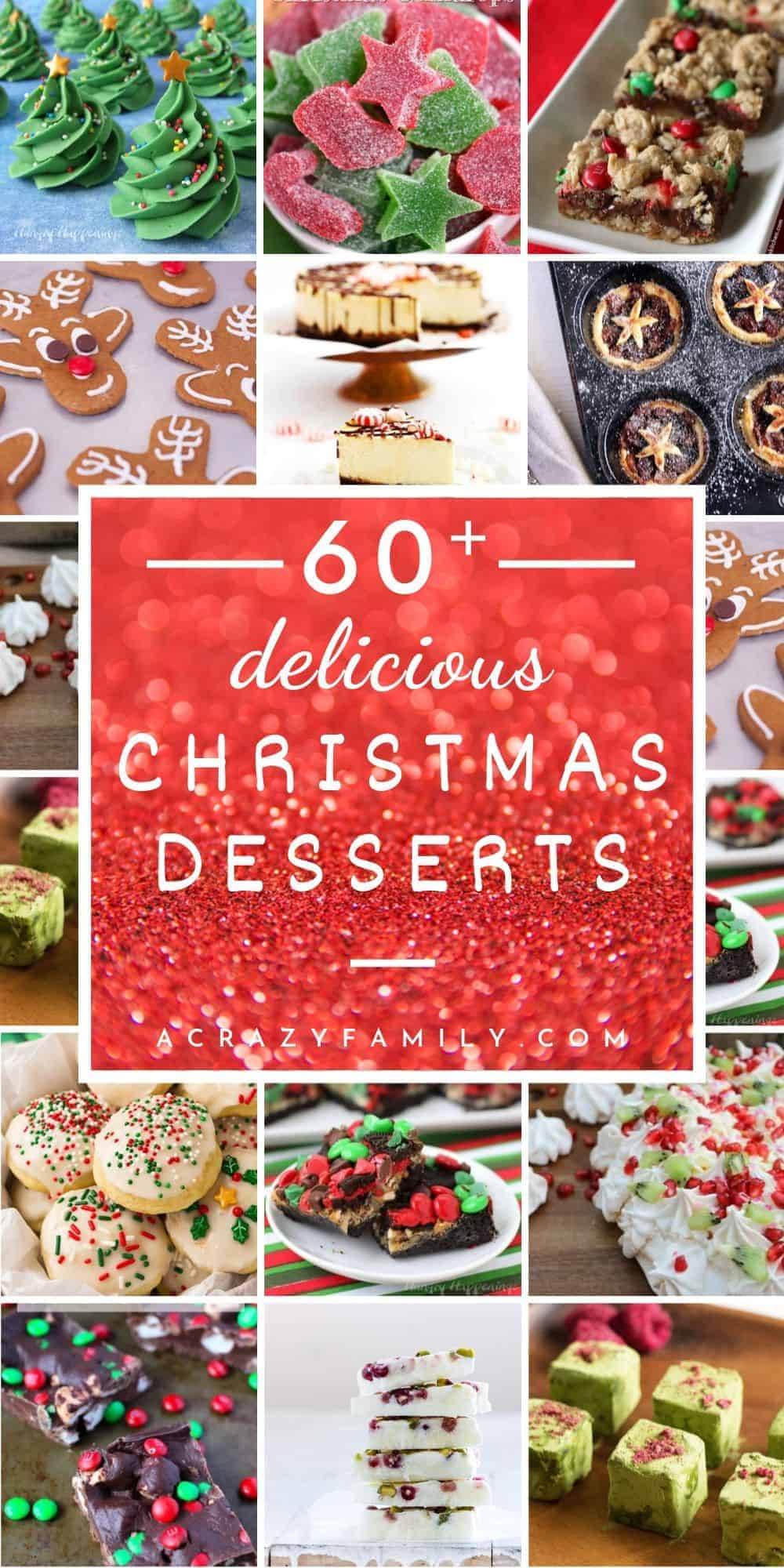 60+ Festive Christmas Desserts