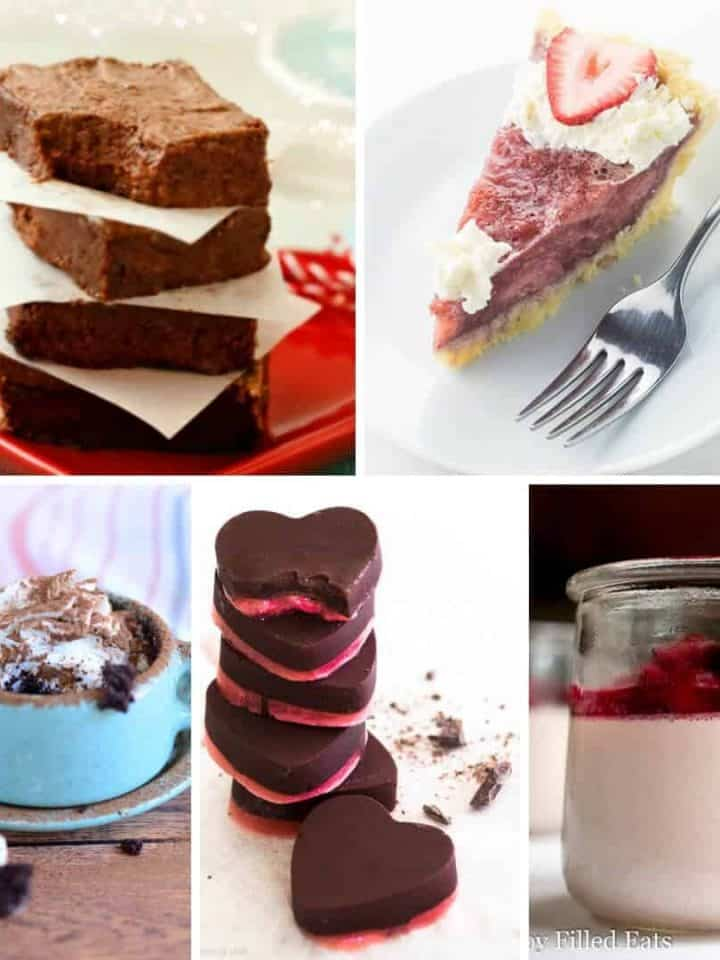 The BEST Low Carb Keto Valentine's Dessert Recipes