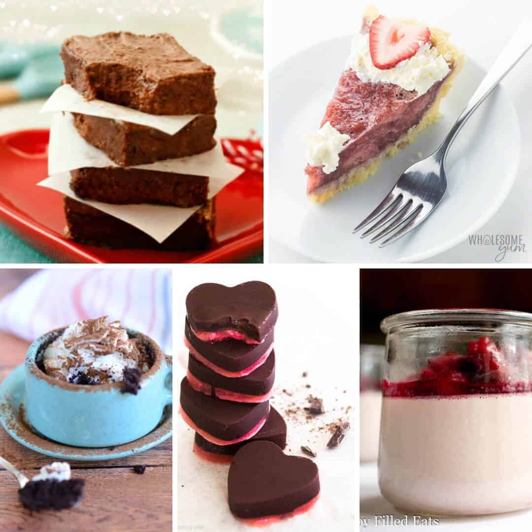 15 Keto Valentine's Dessert Recipes