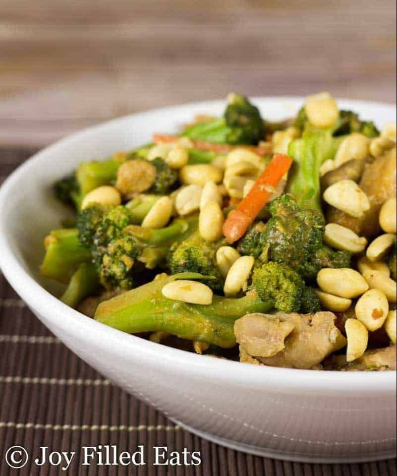 Instant Pot Peanut Chicken And Broccoli