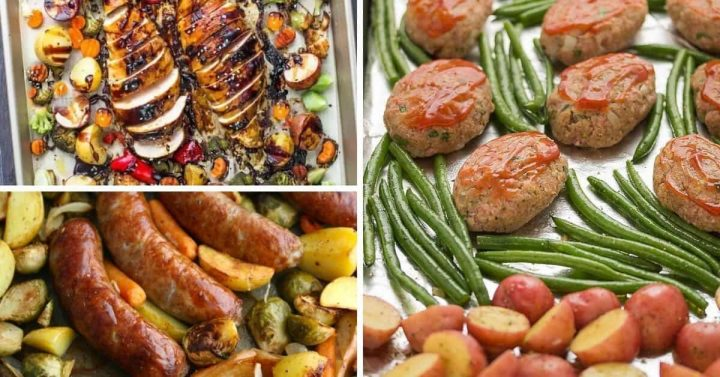 The BEST Quick, Easy & Delicious Sheet Pan Dinner Recipes