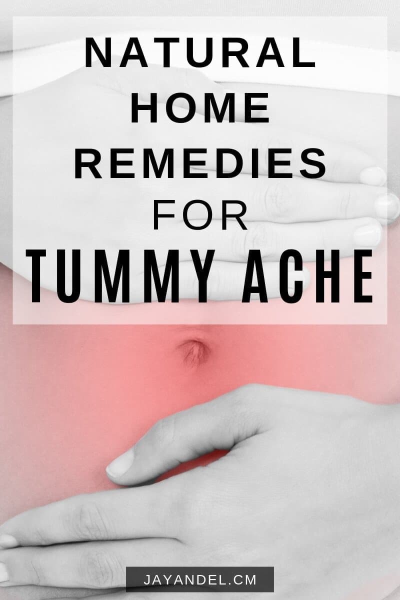 natural remedy tummy ache