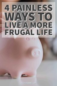 4 Painless Ways To Live A More Frugal Life