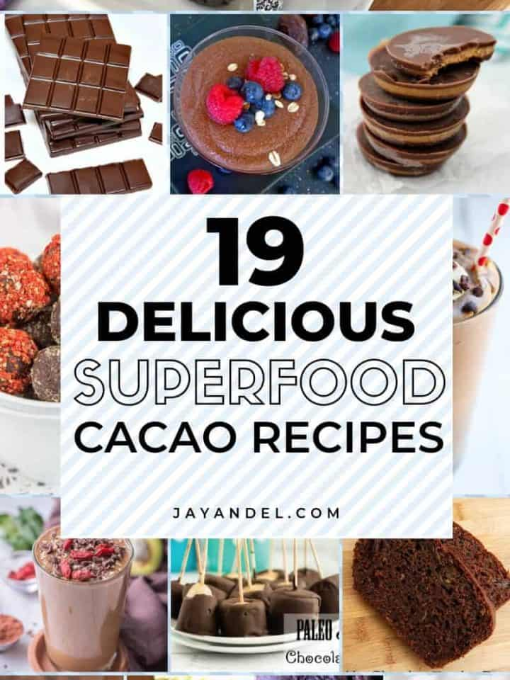 19 Delicious Superfood Cacao Powder Recipes