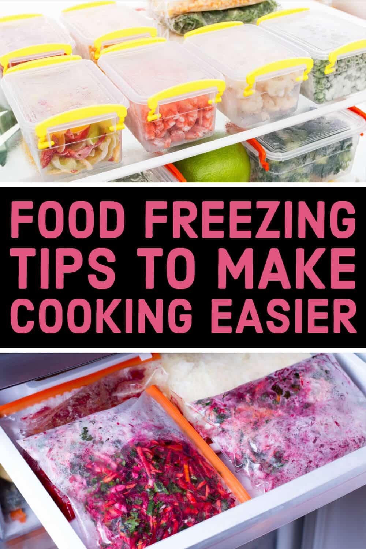 Food freezing tips