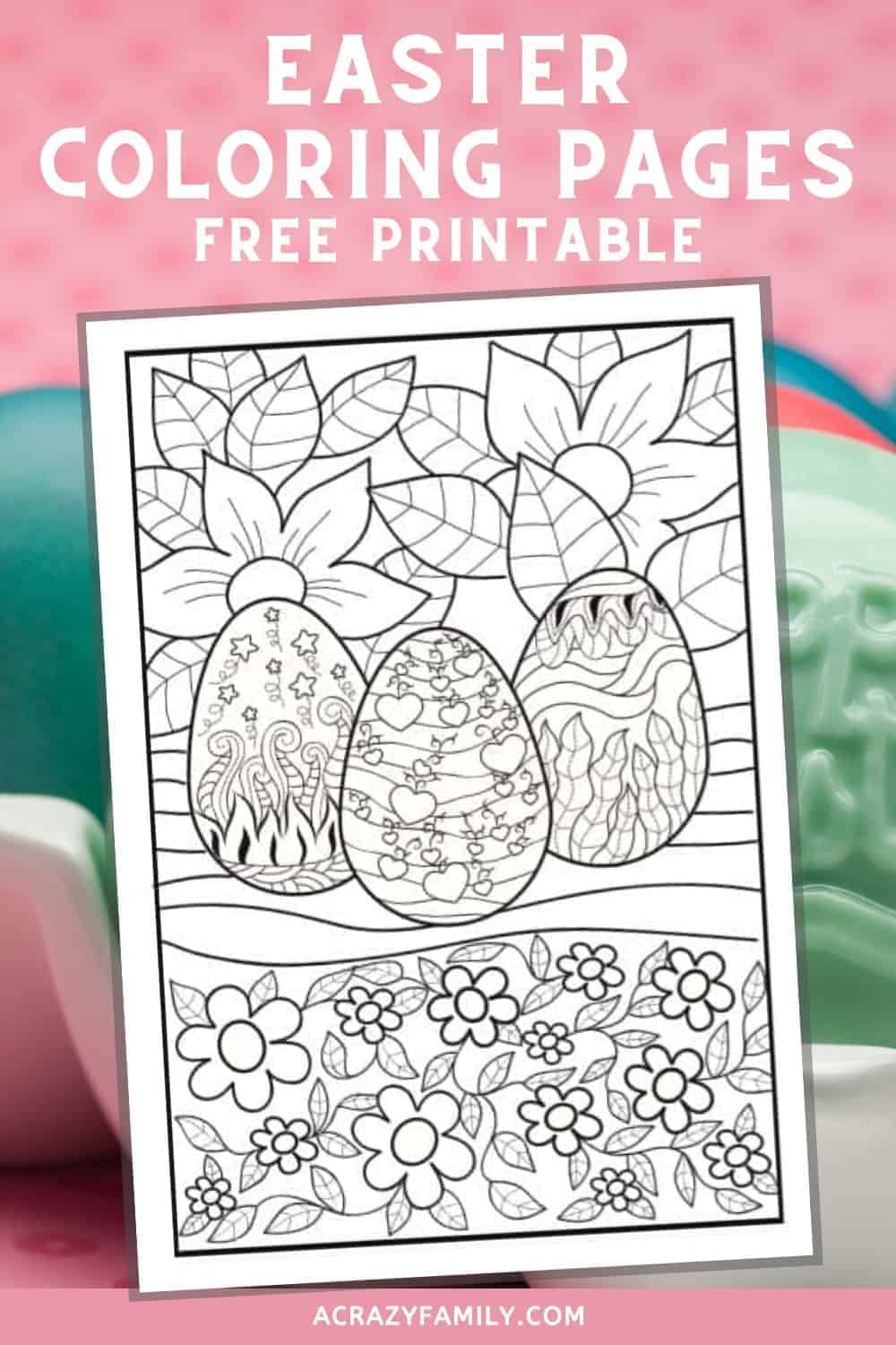 3 Free Printable Easter Coloring Pages For Kids