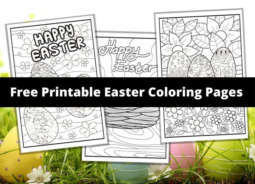 Easter_coloring_pages_for_children_6 Staggering Easter Coloring ... | 742x1024