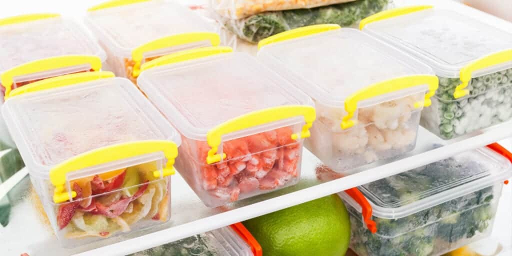 Use proper freezer containers